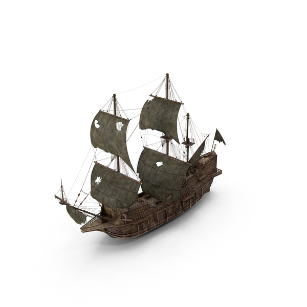 Pirate Ship Worn Object