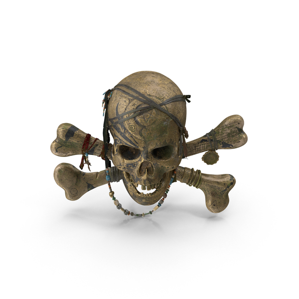 Flag: Pirate Skull PNG & PSD Images