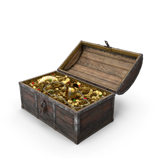 Pirate Treasure Chest PNG & PSD Images