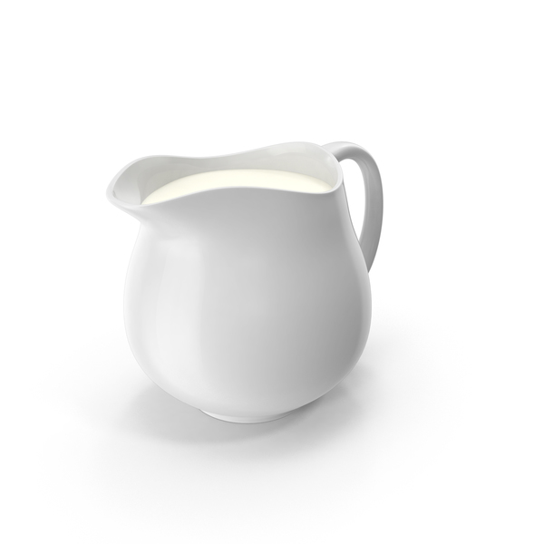 Jug: Pitcher of Milk PNG & PSD Images
