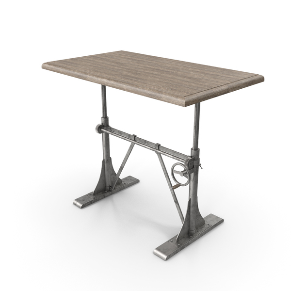 Pittsburgh Crank Sit-Stand Desk PNG & PSD Images