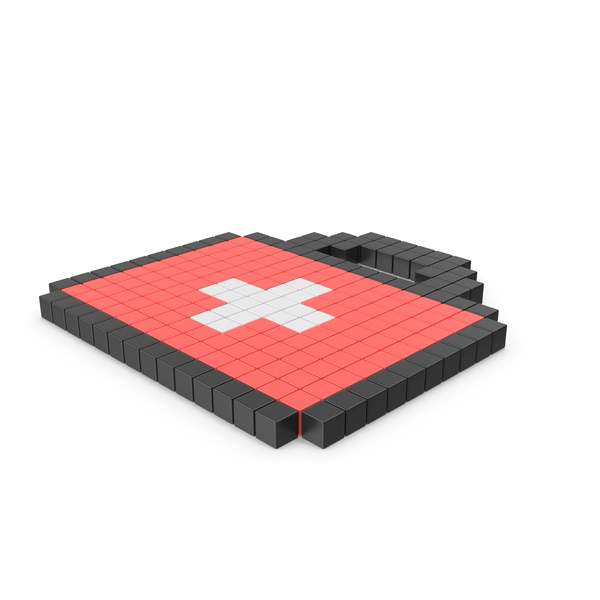 Pixelated First Aid Icon PNG & PSD Images