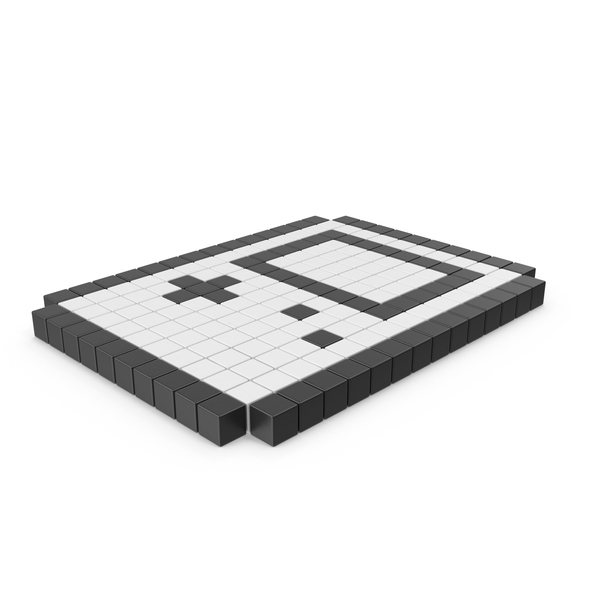 Pixelated Game Boy Icon PNG & PSD Images