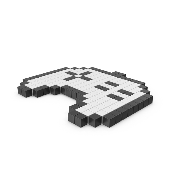 Pixelated Game Pad Icon PNG & PSD Images