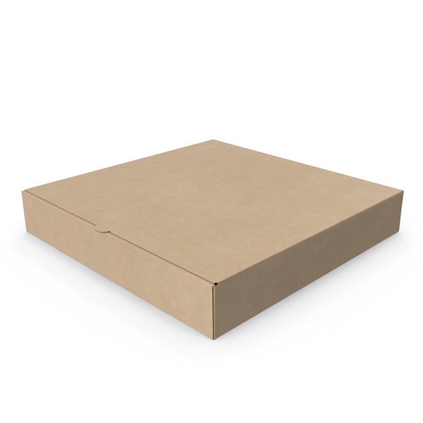 Pizza Box Kraft Paper 10 inch PNG & PSD Images