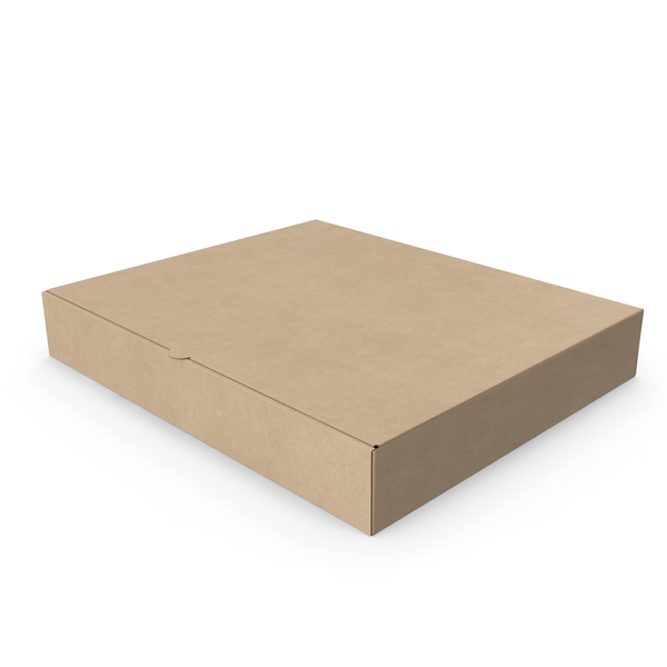 Pizza Box Kraft Paper Rectangle PNG & PSD Images