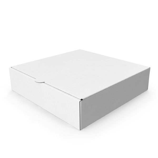 Pizza Box White Paper 4 Inch PNG & PSD Images