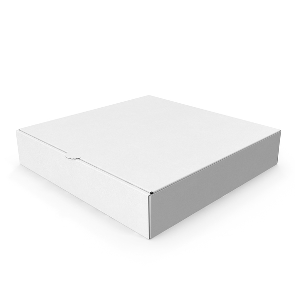 Pizza Box White Paper 6 Inch PNG & PSD Images