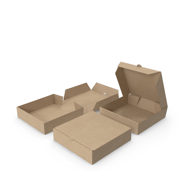 Pizza Boxes Paper 4 inch PNG & PSD Images