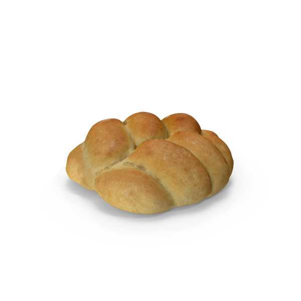 Plaited Bread Roll PNG & PSD Images