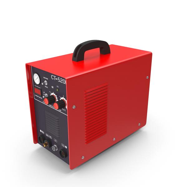 Arc Welder: Plasma Cutter Red PNG & PSD Images