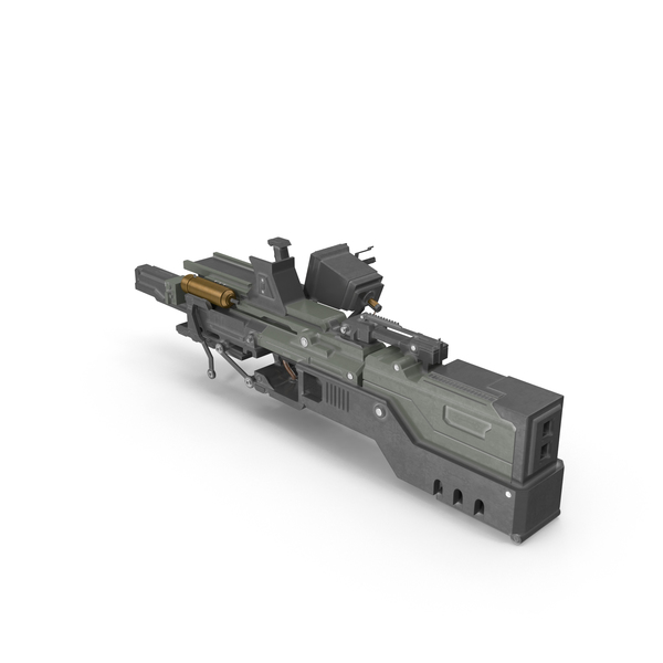 Plasma Rifle PNG & PSD Images