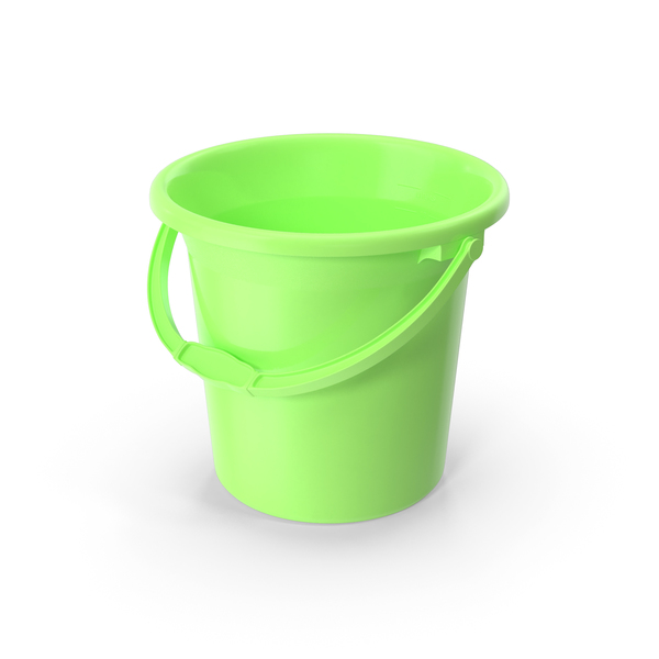Plastic Bathroom Bucket PNG & PSD Images
