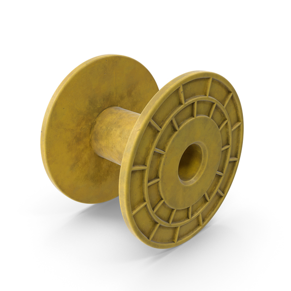 Plastic Bobbin Yellow PNG & PSD Images