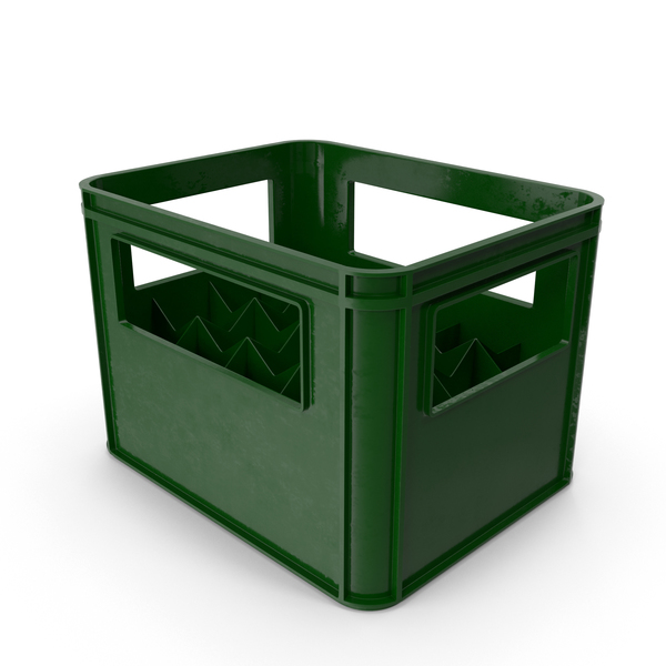 Plastic Bottle Crate PNG & PSD Images