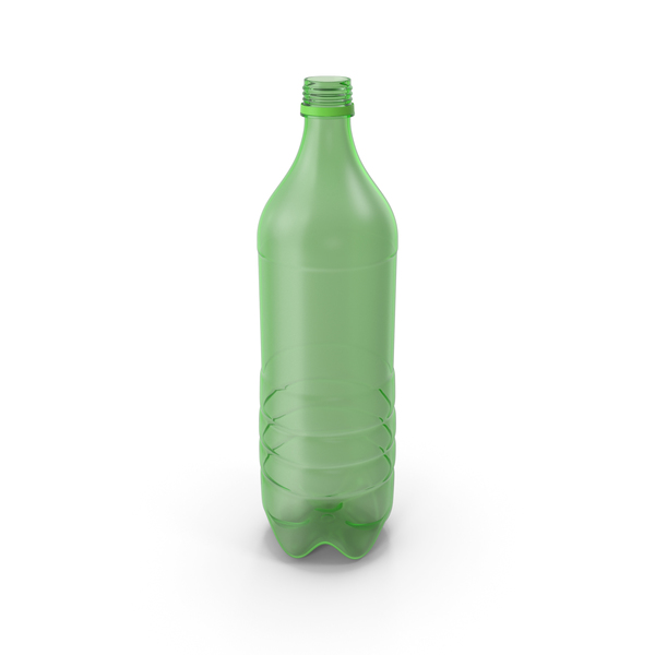 Plastic Bottle Empty No Label PNG & PSD Images