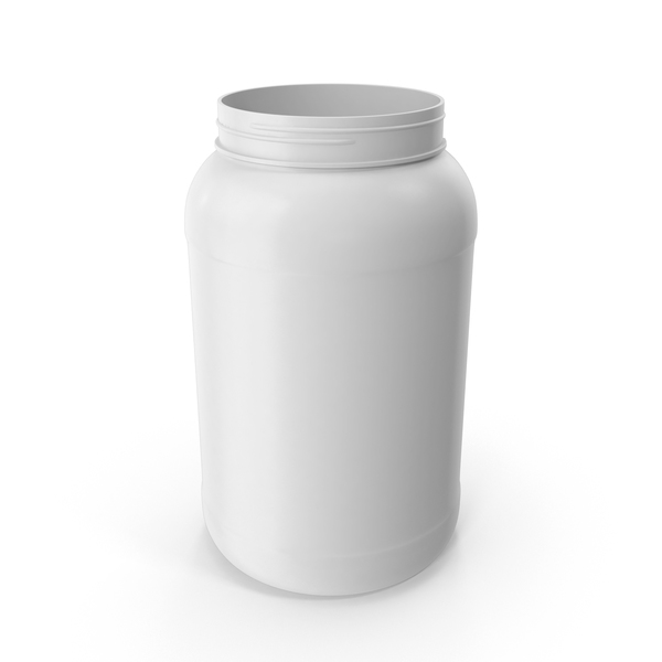 Plastic Bottle Wide Mouth Gallon White PNG & PSD Images