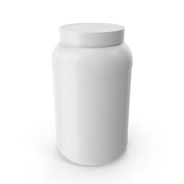 Plastic Bottles Wide Mouth 1 Gallon White PNG & PSD Images