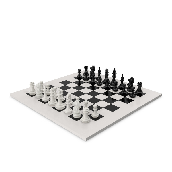 Plastic Chess Set PNG & PSD Images