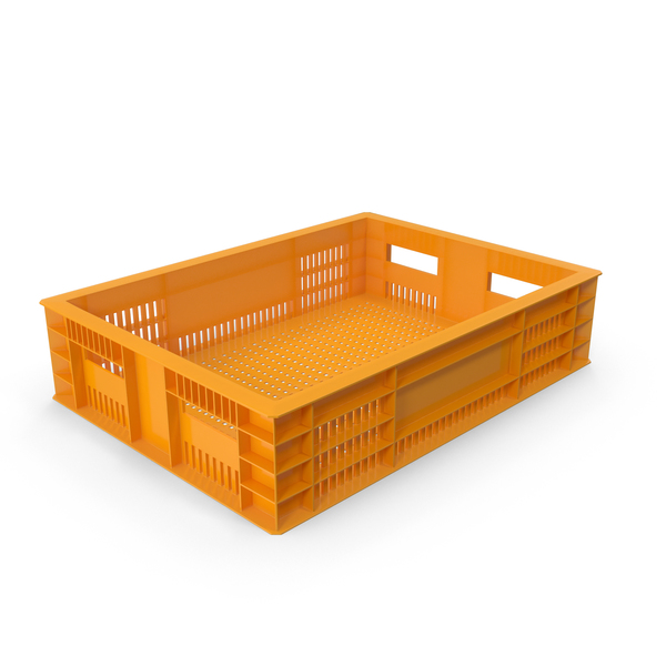 Plastic Crate Object