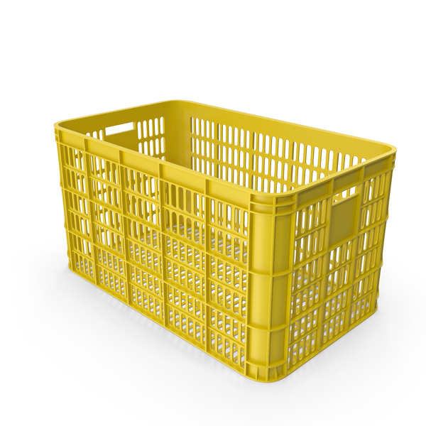 Plastic Crate PNG & PSD Images