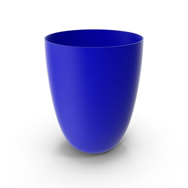 Plastic Cup Blue PNG & PSD Images