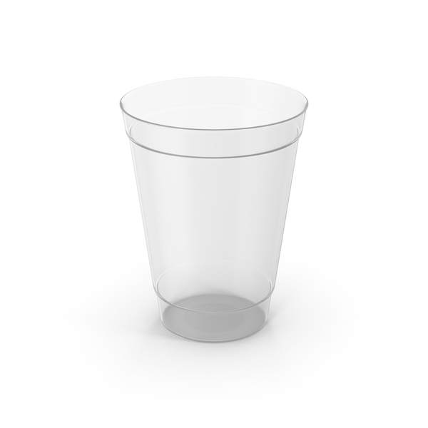 Plastic Cup Empty PNG & PSD Images