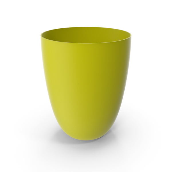 Plastic Cup Yellow PNG & PSD Images