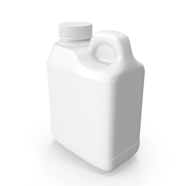 Plastic F Style Bottle 4oz PNG & PSD Images