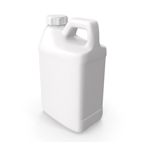Water Container: Plastic F Style Bottle Half Gallon With Child Resistant Cap PNG & PSD Images