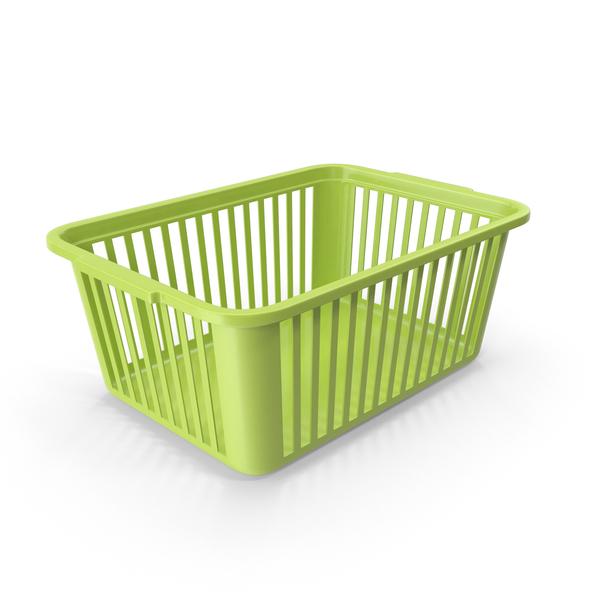 Plastic Handy Basket PNG & PSD Images
