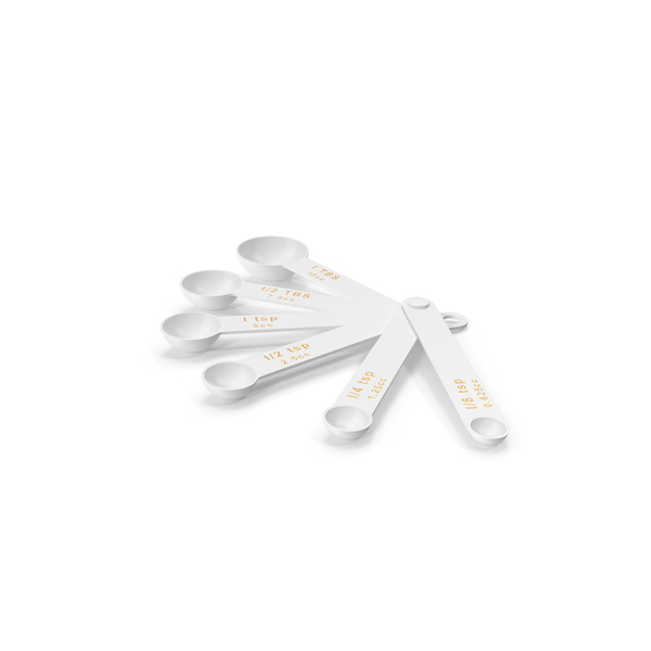 Spoon: Plastic Measuring Spoons PNG & PSD Images