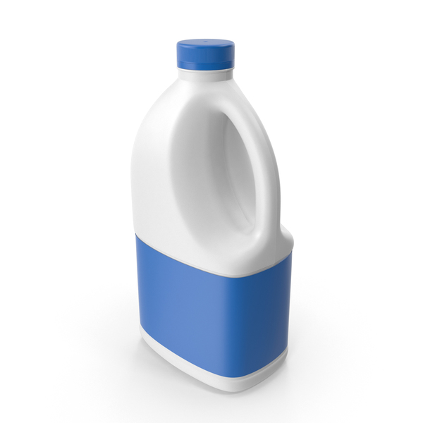 Jug: Plastic Milk Bottle PNG & PSD Images