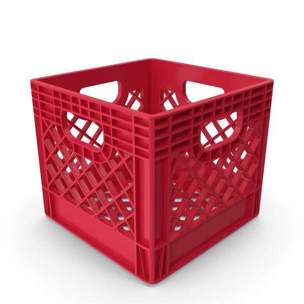 Plastic Milk Crate PNG & PSD Images