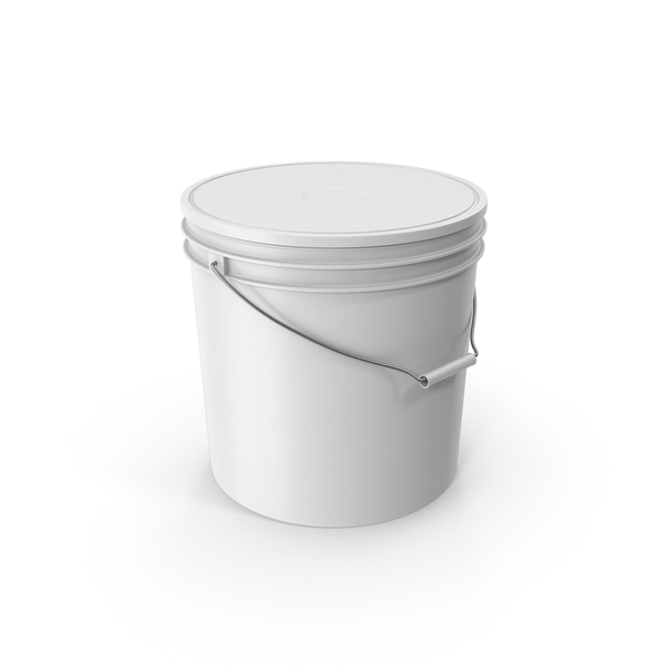 Plastic Paint Bucket PNG & PSD Images