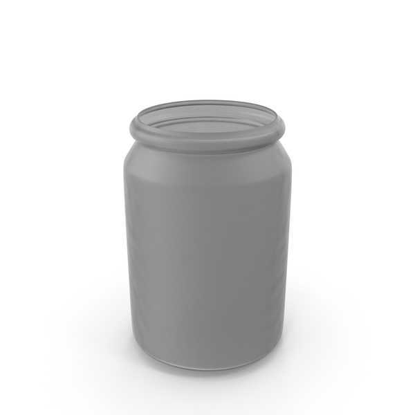 Plastic Round Jar PNG & PSD Images
