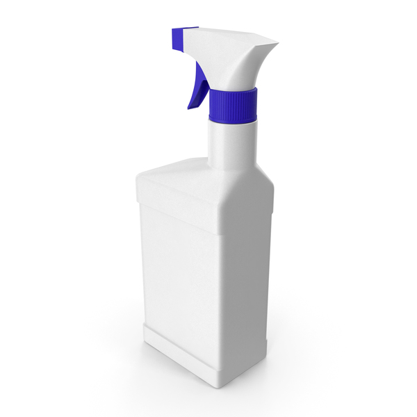 Plastic Spray Bottle with Sprayers PNG & PSD Images