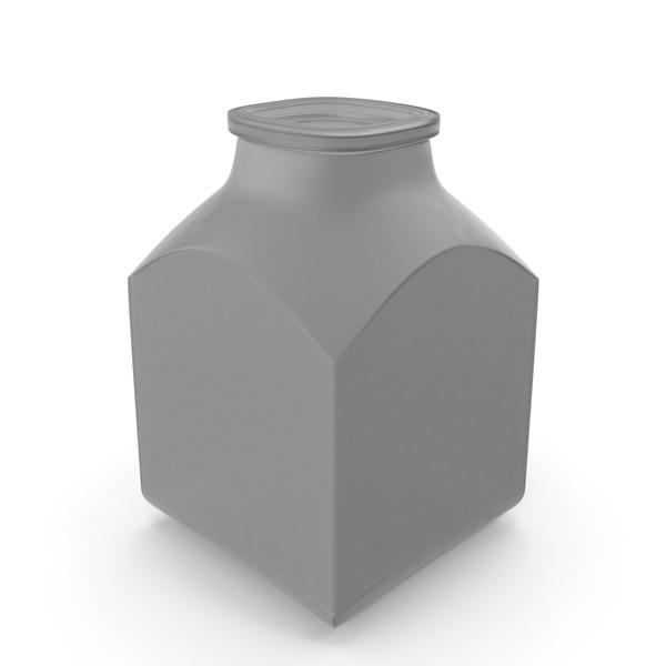 Plastic Square Jar PNG & PSD Images