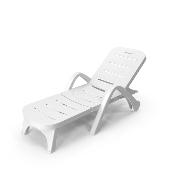 Plastic Sun Lounger PNG & PSD Images