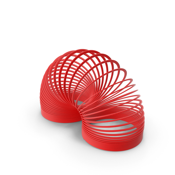 Plastic Toy Spring Curved PNG & PSD Images