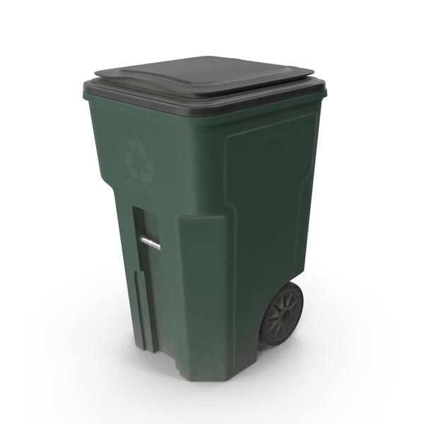 Plastic Trash Bin PNG & PSD Images