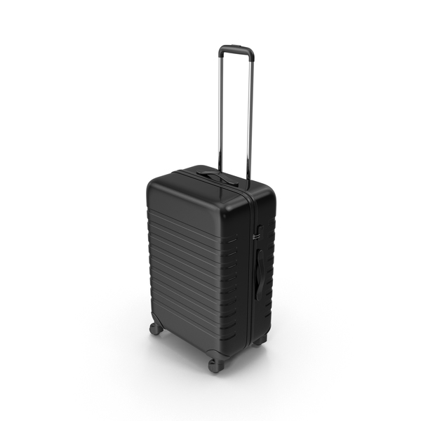 Plastic Trolley Luggage Object