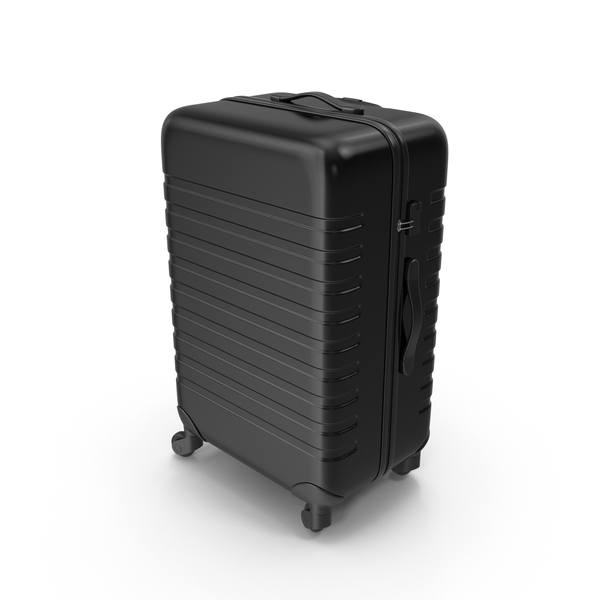 Plastic Trolley Luggage PNG & PSD Images