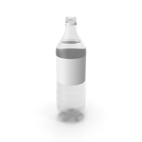Plastic Water Bottle No Cap PNG & PSD Images