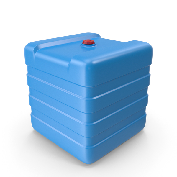 Plastic Water Tank Blue PNG & PSD Images