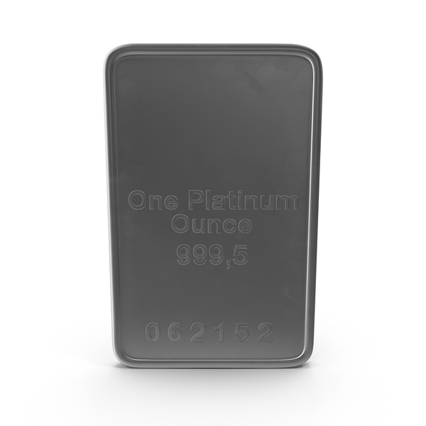 Bar: Platinum Ounce PNG & PSD Images