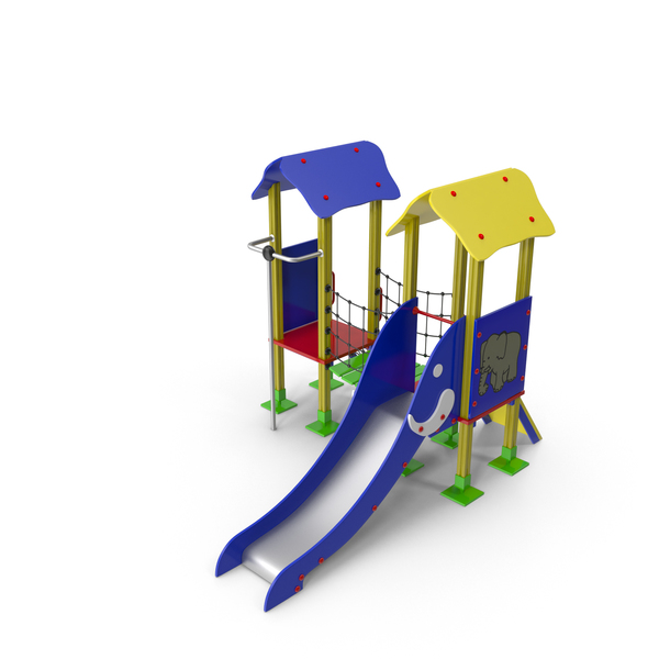 Playground Slide Castle PNG & PSD Images