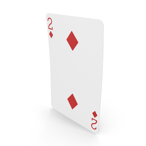 Playing Cards 2 of Diamonds PNG & PSD Images