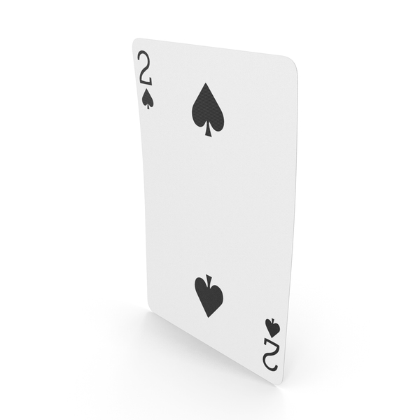 Playing Cards 2 of Spades PNG & PSD Images