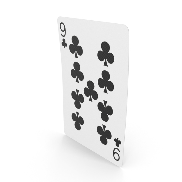 Playing Cards 9 Clubs PNG & PSD Images